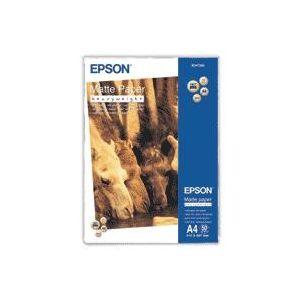 Epson Matte Paper Heavy Weight, DIN A4, 167 g/m², 50 hojas