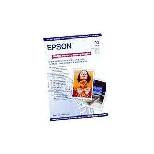 Epson Matte Paper Heavy Weight, DIN A3, 167 g/m², 50 hojas