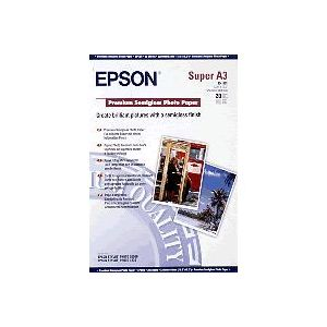Epson Premium Semigloss Photo Paper, DIN A3+, 250 g/m², 20 hojas