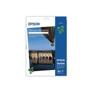 Epson Premium Semigloss Photo Paper, DIN A4, 251 g/m², 20 hojas