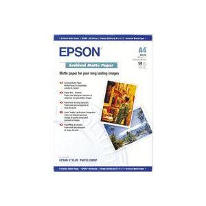 Epson Archival Matte Paper, DIN A3, 192 g/m², 50 hojas