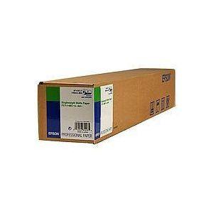 "Epson Rollo de Singleweight Matte Paper, 24"" x 40 m, 120 g/m²"