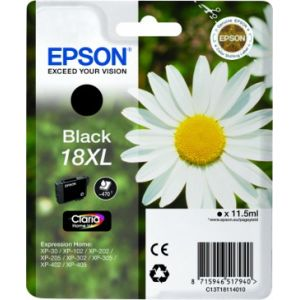 Epson Cartucho 18XL negro