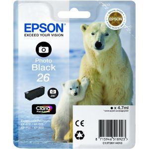 Epson Cartucho 26 negro foto