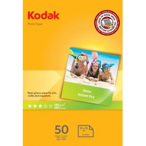 Kodak Papel fotografico A6 de 180 gr en paquetes de 50 hojas