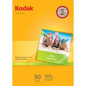 Kodak Papel fotografico A4 de 180 gr en paquetes de 50 hojas