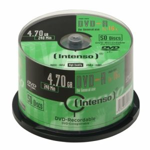 Intenso DVD-R 4.7GB, 16x
