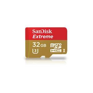Sandisk 32GB Extreme microSDXC UHS-I