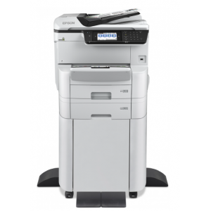 Epson Workforce Pro WF-C8690DTWFC - Multifuncional A3 Color, 35ppm, Duplex, Red y Wifi + Mesa Soporterecta, 35ppm