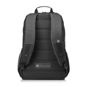 HP Mochila Active de 39,62 cm (15,6 pulgadas), negro/verde menta