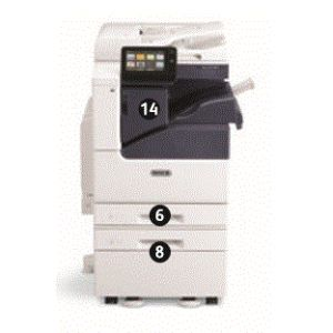 MFP Xerox VersaLink MPS C7020DN  Color A3 de 20ppm (incluye Base+ 2ª Bandeja)
