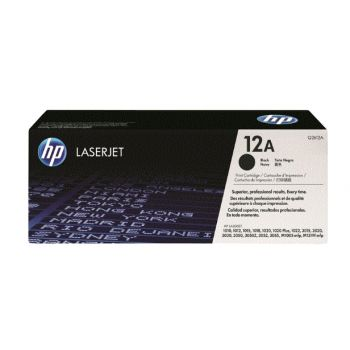HP 12A tóner original LaserJet Q2612A