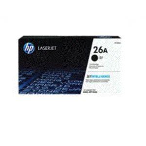 HP TONER NEGRO(3.1K) NR. 26A