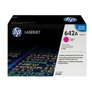 HP CB403A tóner y cartucho láser Cartucho de impresión magenta HP Color LaserJet CB403A con tecnología de impresión Smart
