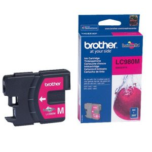 Brother Tinta Magenta - LC-980M - 260 páginas