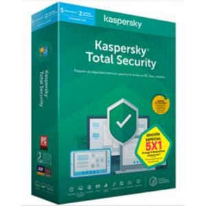 KASPERSKY 2020 TOTAL SECURITY - 5 Licencias - 1 Año
