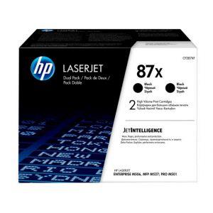 HP Pack 2 Tóner Negro 87X - CF287XD - 36.000 páginas