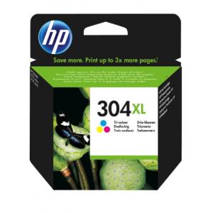 HP Tinta Tricolor 304XL- N9K07AE - 300 páginas