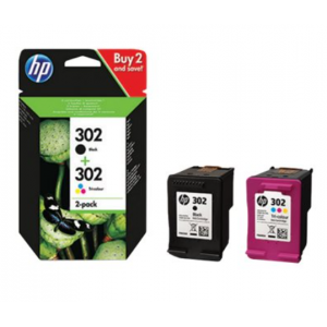 HP Combo Pack 302 - X4D37AE - 190/165 pag. mono/color