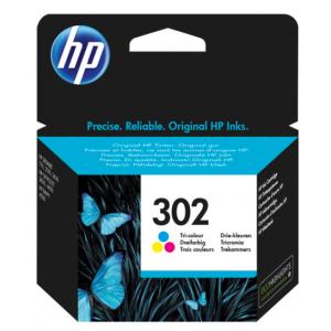 HP Tinta Tricolor 302 - F6U65AE - 165 páginas
