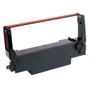 Epson Cartucho ERC38BR para TM-300/U300/U210D/U220/U230, negro/rojo ERC38 Cartucho Epson de cinta roja/negra