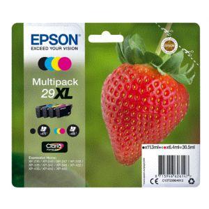 EPSON Pack 4 Cartuchos Tinta BK/C/M/Y 29XL - C13T29964012 - 470/450 pag. Negro/Color