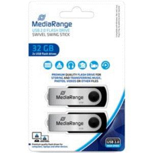 MEDIARANGE USB 32GB PACK 2