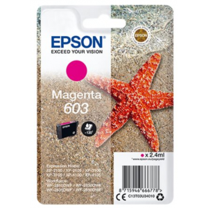 EPSON Tinta Magenta 603 - C13T03U34010 - 130 páginas