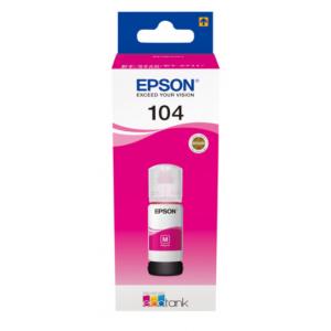 EPSON tinta Magenta ECOTANK 104 - C13T00P340 - 70 ml