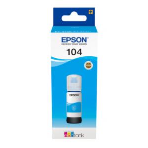 EPSON Tinta Cián ECOTANK 104 - C13T00P240 - 70 ml