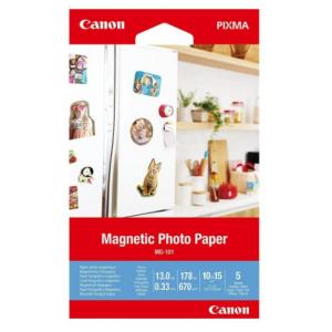 Canon Papel Foto Magnético MG-101 - 3634C002 - 5 hojas