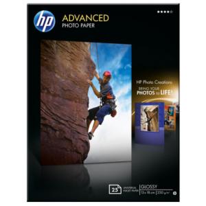 HP Papel Fotográfico 13x18 cm - Q8696A - 25 hojas