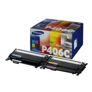 Samsung Pack 4 Tóner BK/C/M/Y - SU375A - 1.500/.1000 páginas Mono/Color
