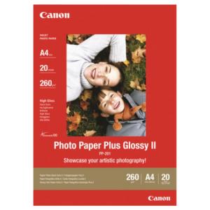 Canon Pepel Fotográfico II PP-201 13X18 - 2311B018 - 20 hojas