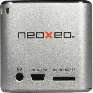 Sistema de altavoces NeoXeo SPK 120 - 1,7 W RMS - Plata - USB