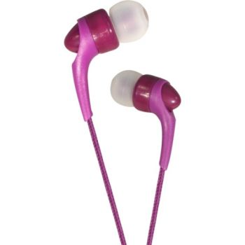Auricular NeoXeo HDS POCKET Cableado Estéreo - Intrauricular - Intrauditivo - Violeta - 16 Ohm - 20 Hz - 20 kHz - 80 cm Cable -