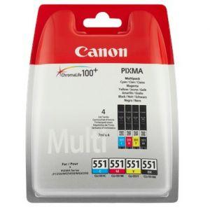 Canon CLI-551 C/M/Y/BK w/sec