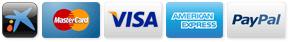 Pago seguro: TPV virtual de La Caixa, Visa, Mastercard, American Express, Paypal